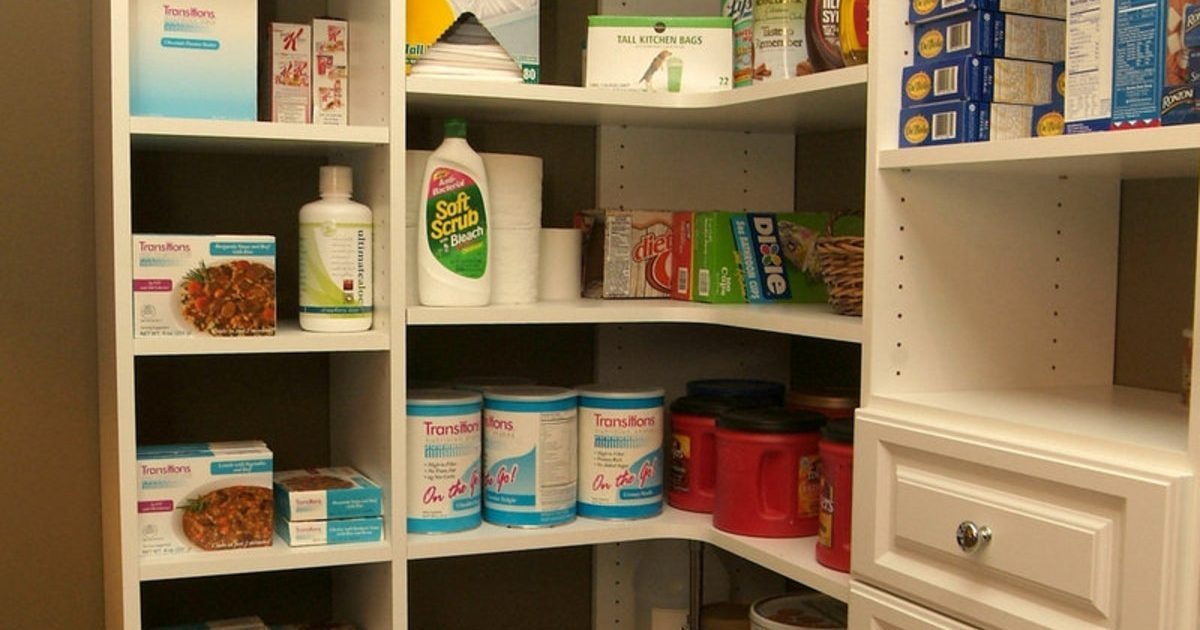 custom white pantry