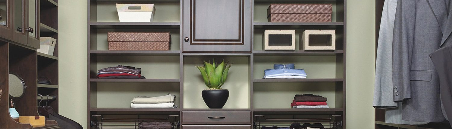chocolate closet organizer system for men wide