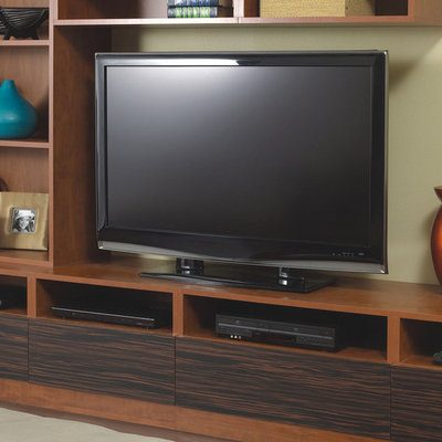custom media center with tv